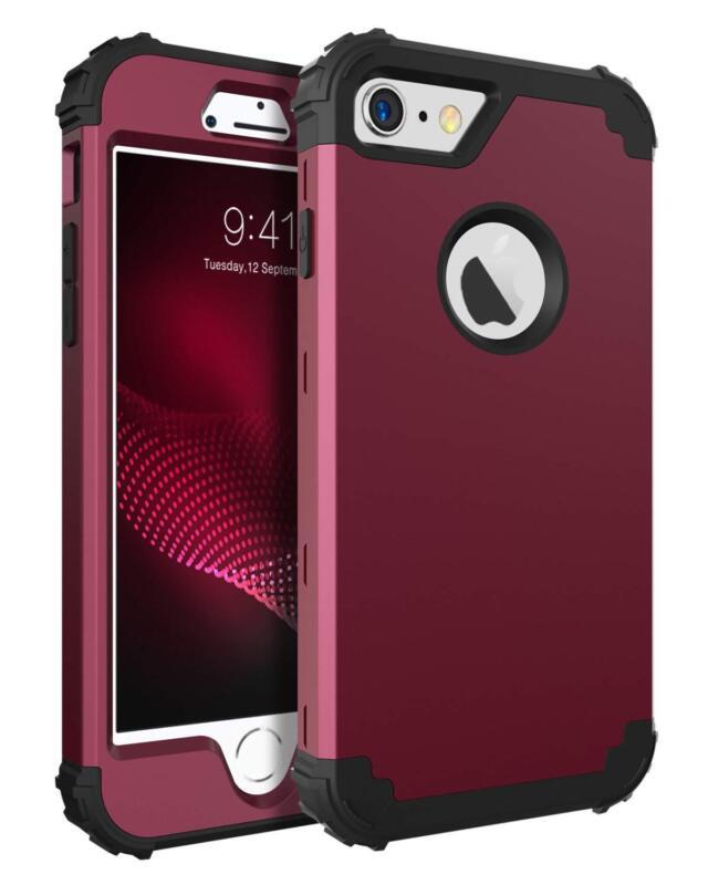 Bentoben Phone Case For Iphone 6S/Iphone 6,3 In 1 Shockproof