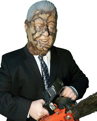 Clinton Halloween Costume (Morris Costumes Full Over The Head Bubba Clinton hand Painted Latex Mask.)