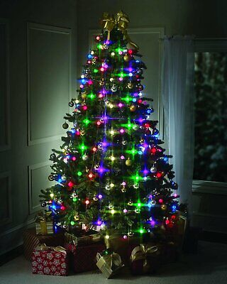 Tree Dazzler 48/64 LED string fairy Lights Show by Bulb Head 16 Light Patterns ()