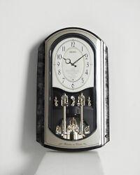 SEIKO MELODIES IN MOTION WALL CLOCK -  Retired Music Box Swarovski QXM136KRH