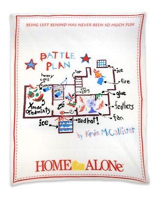 "Home Alone - ""Battle Plan"" Fleece Throw - NECA"