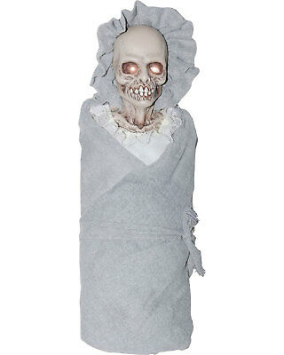 Light Up Baby Costume (Morris Costumes Haunted House Or Haunt Eye Lightup Baby Creepy Prop.)