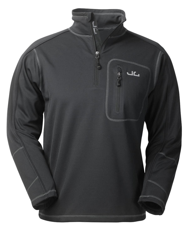 Herren Softshell Pullover Outdoor Fleece Thermo Midlayer Trekking Freizeit