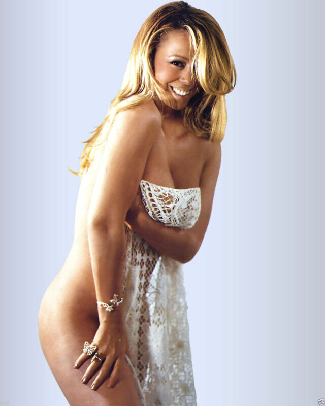 Mariah Carey Nude 8x10 Picture Celebrity Print