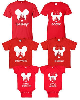 Disney Family Shirts - Family Mickey Mouse Shirts - Minnie Mouse Shirt  - Family Mickey Mouse Shirts