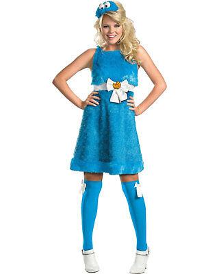 Morris Costumes Women's Movie Character Sesame Street Costume Blue S. DG11476N - Women Movie Character Costumes