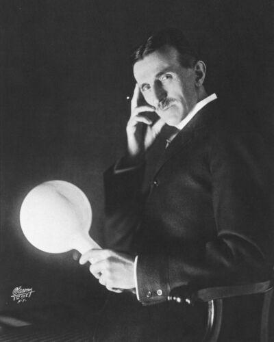 Nikola Tesla 8X10 Photo Picture Image American inventor engineer futurist AC #4