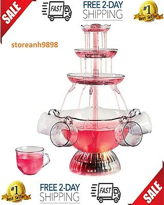 Party,Punch Lighted Fountain Indoor Birthday Occasion Tableware Drink Beverage. ()