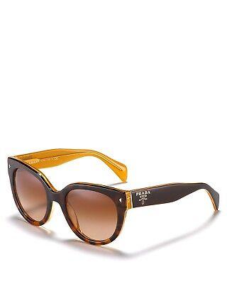 NEW Genuine PRADA SWING Ladies Sunglasses SPR170 Light Brown Havana Opal FAL-1Z1