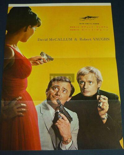 ROBERT VAUGHN DAVID McCALLUM The Man From UNCLE 1966 JPN Movie POSTER 10x14 fg/v