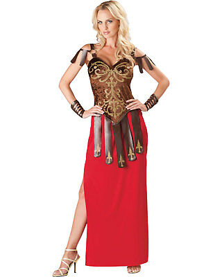 Morris Costumes Adult Women's Greek/Roman Gorgeous Gladiator Outfit L. IC11028LG