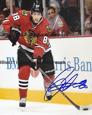 PATRICK KANE CHICAGO BLACKHAWKS HOCKEY SIGNED AUTOGRAPHED 8X10 PHOTO RP