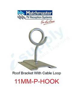 MATCHMASTER Antenna Roof Bracket With Cable Loop 11MM-P-HOOK Parramatta Parramatta Area Preview