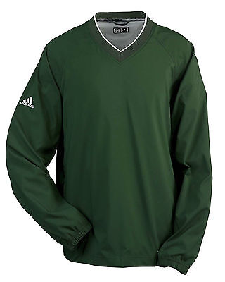 Adidas Golf A47 ClimaProof V-Neck Wind Adult Shirt - Licensed Athletic Pullover
