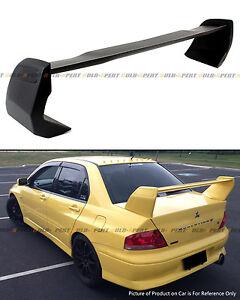 For 2002-07 Mitsubishi Lancer Evo 7 8 9 Primered Black Rear Trunk Spoiler Wing