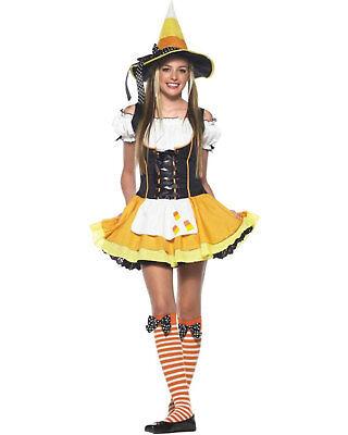 Teen Candy Kostüme (Morris Costumes Women's Kandy Korn Witch Teen Candy Com Costume S/M. UA48005TSD)