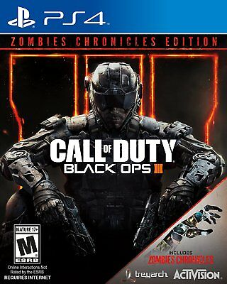 Call of Duty: Black Ops III Zombies Chronicles Number (Sony PlayStation 4) NEW