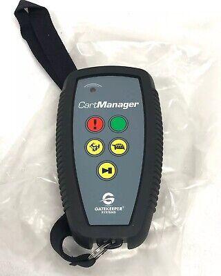 Gatekeeper Oem Cart Manager Hd Xd Remote K-9400 New 6817c-remote