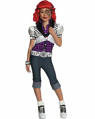 Monster High Operetta Child Halloween Costume (Monster High Operetta Child 4PC Complete Costume Medium size 8-10 HALLOWEEN NWT)