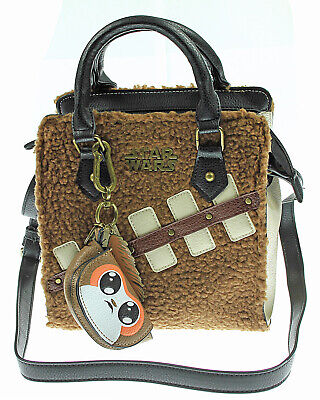 Star Wars Chewbacca Handbag with Mini Porg Coin Purse