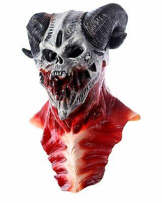 Halloween Maske Horror Kostüm Zombie Cosplay Party Fasching Karneval Clown Purge
