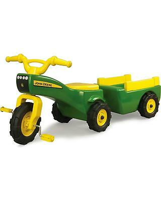 Kids Riding Toys Toddler Ride On Toy Pedal Tractors For Children With (John Deere Ride On Tractor With Trailer)