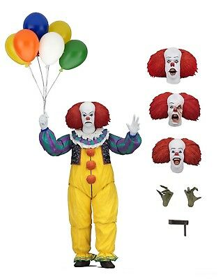 "IT - 7"" Scale Action Figure - Ultimate Pennywise (1990) - NECA"