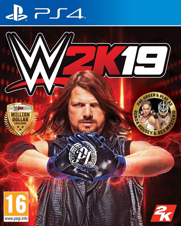 WWE 2K19 DayOne-Edition (PS4) (NEU & OVP) (UNCUT) (Blitzversand)