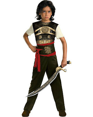 Morris Costumes Boys Decorative Top Dastan Classic Costume 10-12. DG11570G
