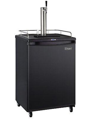 Kegco Z163b-1 Full Size Single Faucet Commercial Grade Digital Kegerator - Black