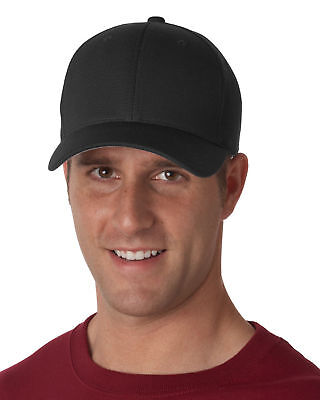UltraClub Men's Breathable Double Faced Fabric Casual Hat Low Profile Cap. 8150 Cloth Low Profile Cap
