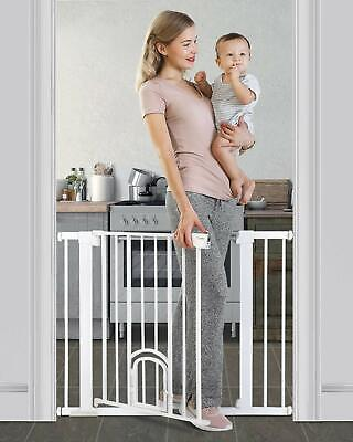 "Cumbor 40.6""Auto Close Safety Baby Gate"