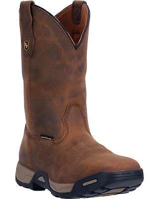 Waterproof Work Boot (Dan Post Men's Hudson Waterproof Work Boot Soft Square Toe DP69852)