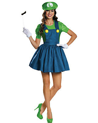 Morris Costumes Adult Women's Tv & Movie Characters Mario Skirt L. DG85182E](Mario Character Halloween Costumes)