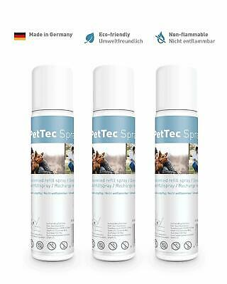 3x PetTec Nachfüllspray für Erziehungshalsband Trainer, Antibell Petsafe Innotek