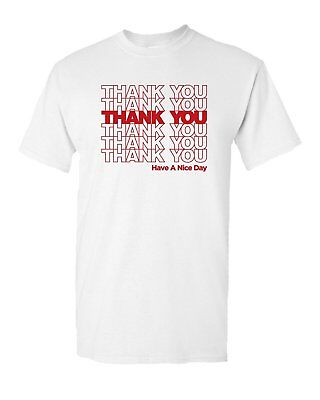 Store Adults (Thank You Bag Sack Thankyou Shop Store Grocery Men Funny Adult Graphic)