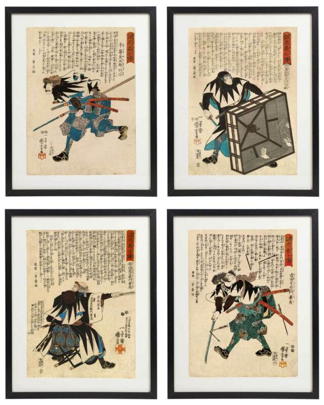 Penance Under Waterfall Kuniyoshi Japanese Painting 8x10 Real Canvas Art Print