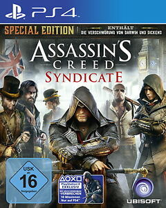 Assassins Creed Syndicate Special Edition Playstation 4 PS4 NEU - Deutschland - Assassins Creed Syndicate Special Edition Playstation 4 PS4 NEU - Deutschland