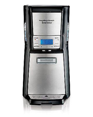 New Hamilton Beach 12-Cup Coffee Maker, Programmable Brewstation Coffee 48465
