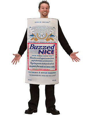 Morris Costumes Men's Buzzed Nice Beer Polyfoam Tunic Costume One Size. FW5449B](Beer Costumes For Men)