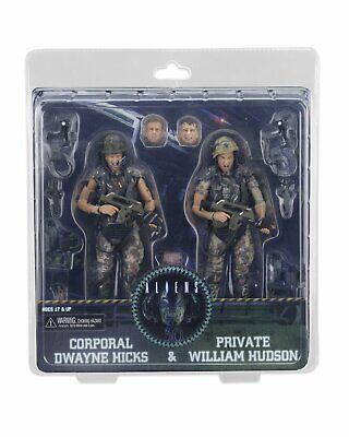 ALIENS Colonial Marines Hicks & Hudson 30th Anniv 2 pack action figure~NECA~NIB