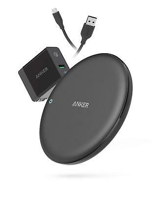 Anker PowerWave 7.5 Fast Wireless Charging Pad with Fan, Qi-Certified BLACK