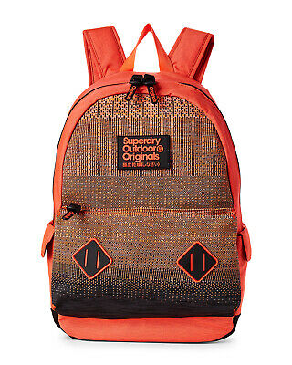 NWT SUPERDRY AUTHENTIC SCHOOL SPORT MEN'S KNITTER MONTANA POLYESTER BACKPACK