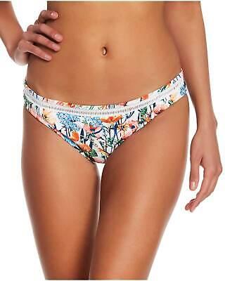 Lucky Brand Lucky Garden Hipster Bikini Bottom Large L Multi Womens Swimsuit ()