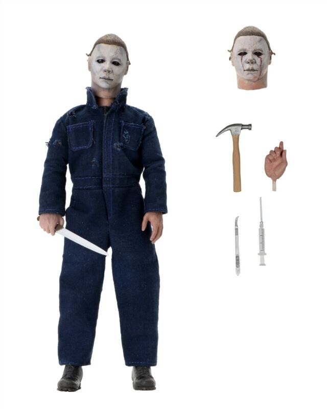 """Halloween 2 - 8"""" Scale Clothed Figure- Michael Myers - NECA"""