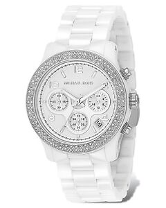 ***MINT New Michael Kors White Ceramic Watch***