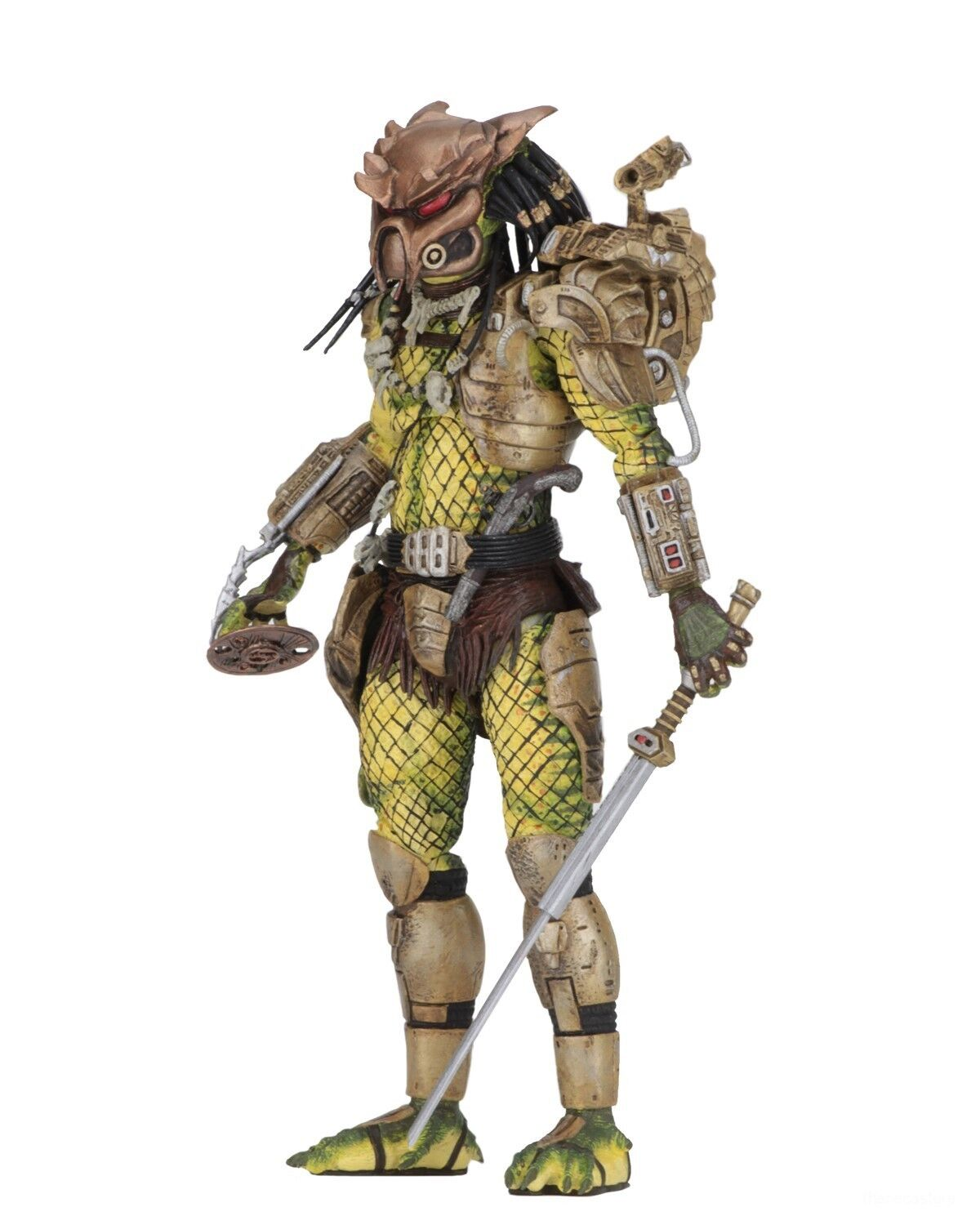 "Predator 2 - 7"" Scale Action Figure - Ultimate Elder: The Golden Angel - NECA"