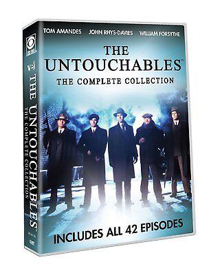 The Untouchables Complete TV Series Season 1-2 (42 EPISODES) NEW 7-DISC DVD SET