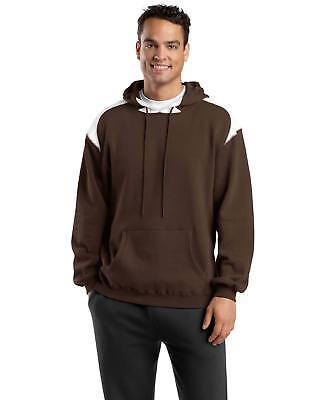 Sport-Tek Men's Athletic Pouch Pocket Pullover Winter Hooded Sweatshirt. F264