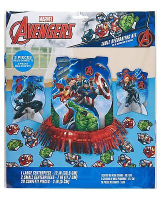 Marvel Avengers Table Decorating Kit 23 Piece Centerpiece Party Supplies